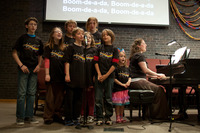 childrens choir w t shirts